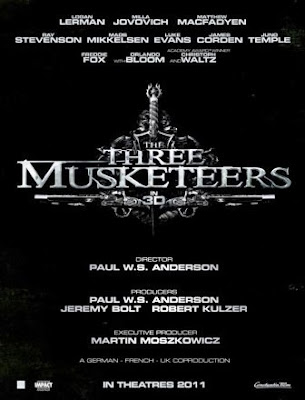 Los tres mosqueteros 3D (The Three Musketeers)(2011)