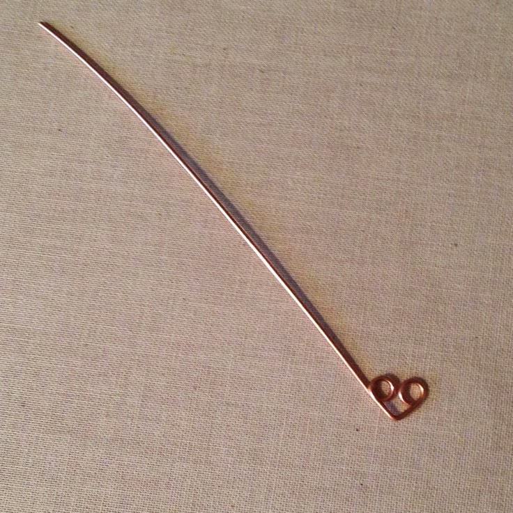 Free Tutorial - Simple Wire Heart Ring: Lisa Yang's Jewelry Blog