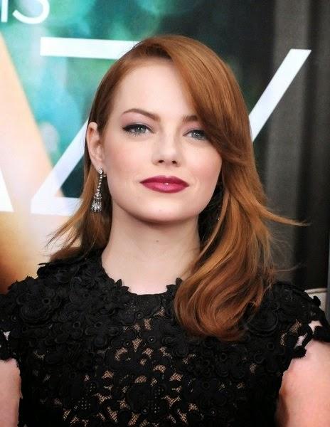 emma stone ou la femme qui a la chance dtre toujours jolie que ce soit en blonde ou en rousse - Coloration Rousse