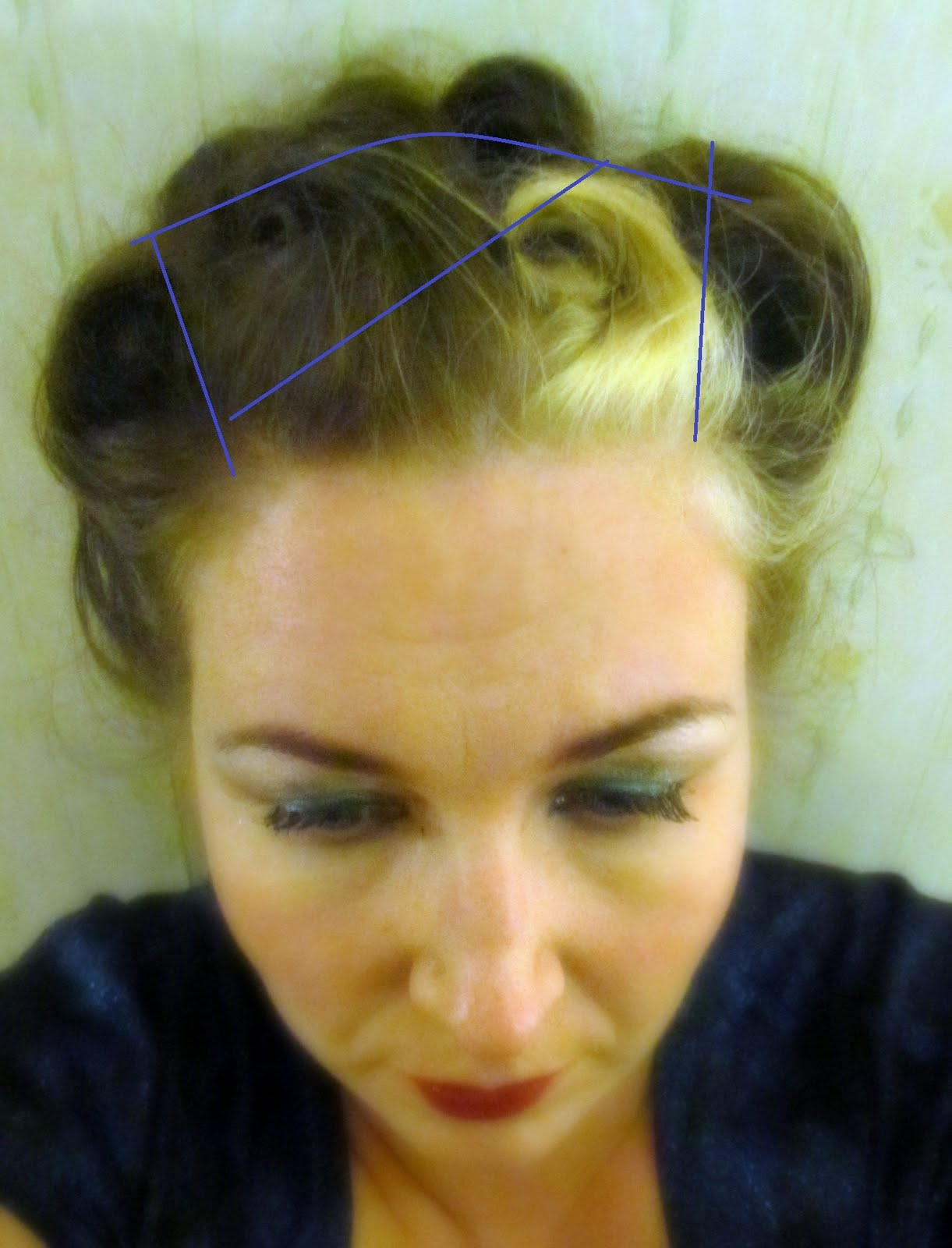 Fashionable Forties A 194039s Updo Tutorial
