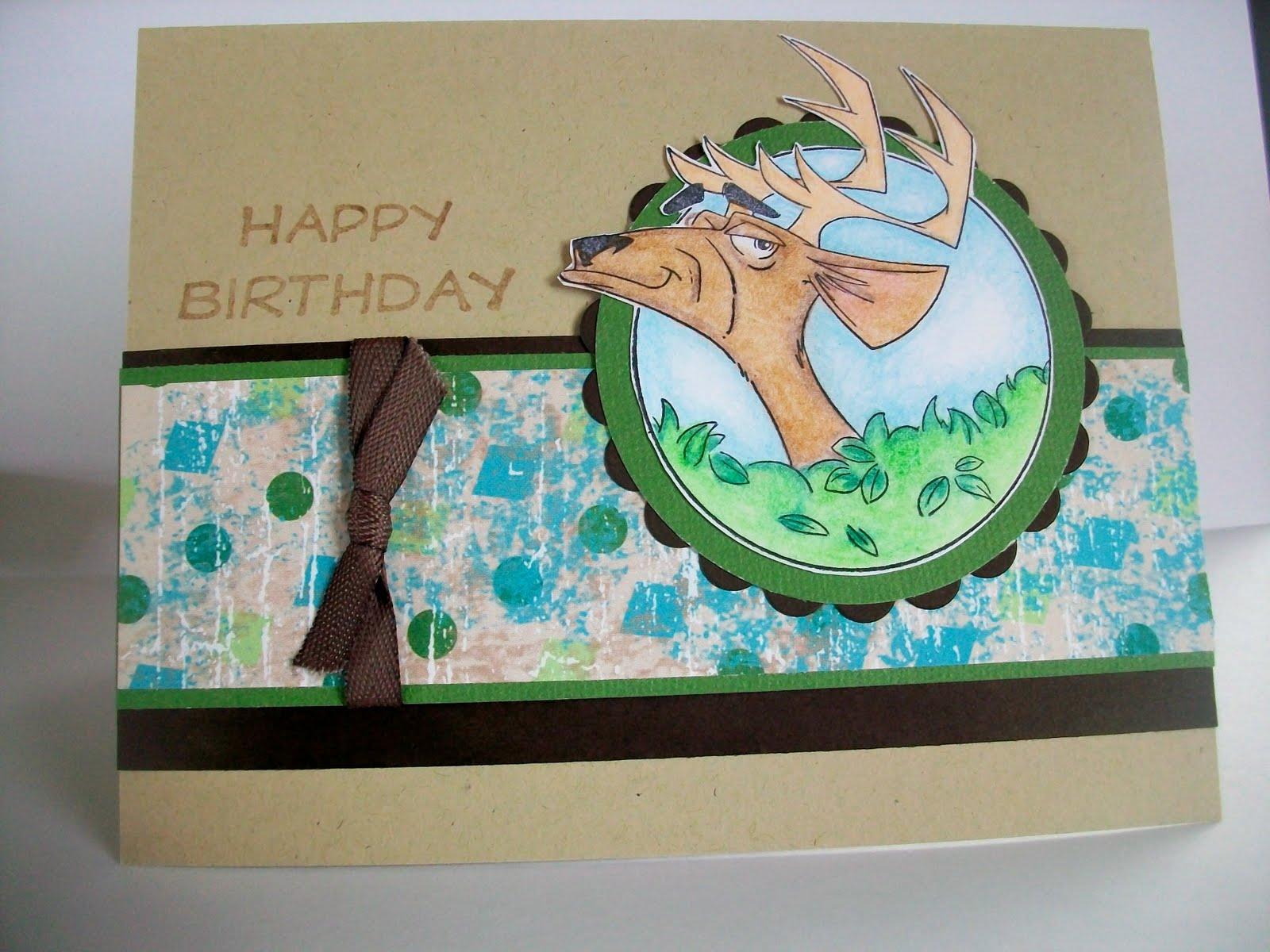 Locust Grove (OK) United States  City pictures : Trudy's Treasures: Happy Birthday, Deer