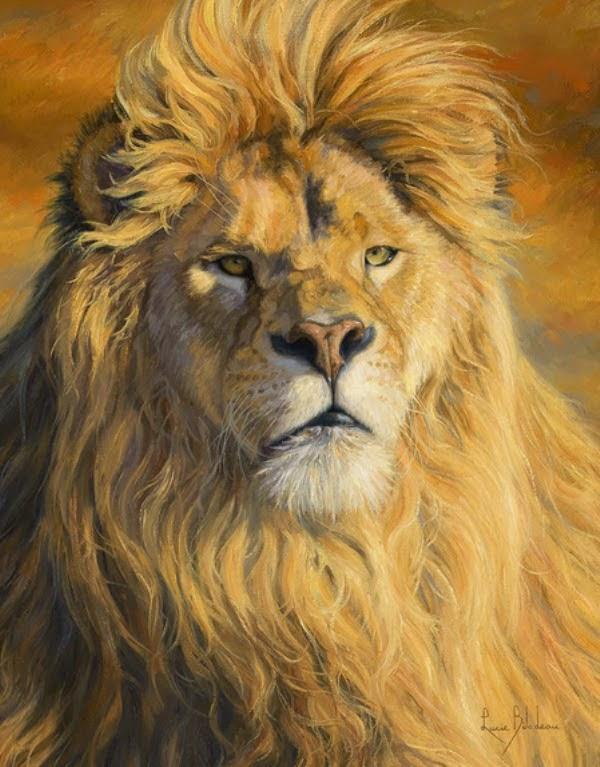 leones-en-pinturas-al-oleo