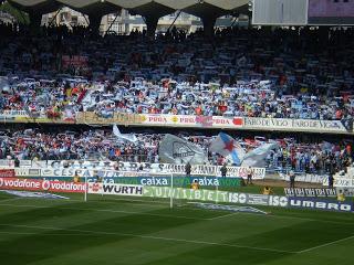 Afición del Celta de Vigo en Balaídos, Vigo