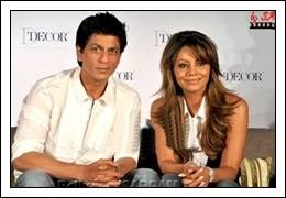 (10th-Nov-12) Love Story [Shahrukh Khan and Gauri Khan]