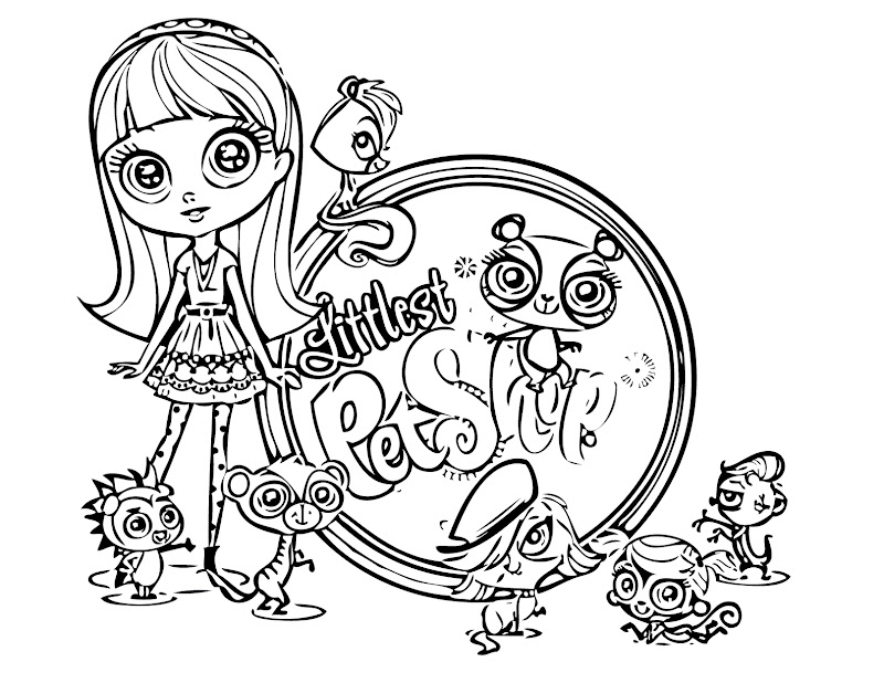 littlest pet shop coloring pages littlest pet shop coloring pages title=