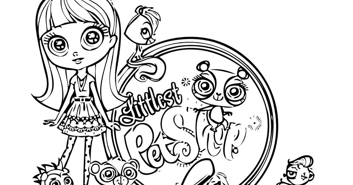 Littlest Pet Shop coloring pagesjpg