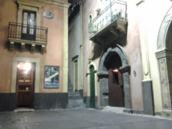 La riproduzione del quartiere d'epoca nel Museo dello Sbarco