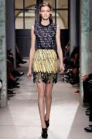 Мини пола с бордюр от рязана дантела на Balenciaga
