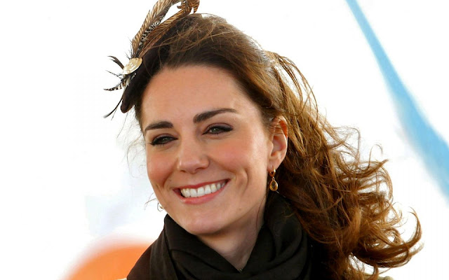 Kate Middleton Happy