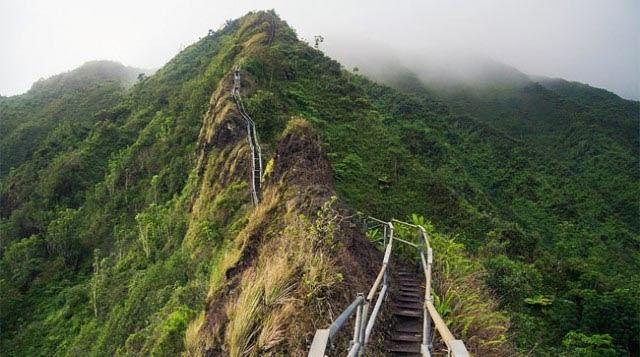 Escaleras Abandonadas Hawai