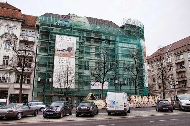 Baustelle Kaiserdamm, Exklusive Eigentumswohnungen, 14057 Berlin, 02.01.2014