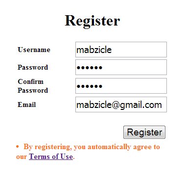 Erotic review username password