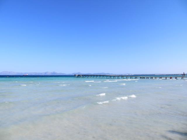 Alcudia Mallorca beach ranta