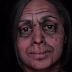 Mulher usa maquiagem pra envelhecer, morrer, virar parte do universo e renascer como um tigre