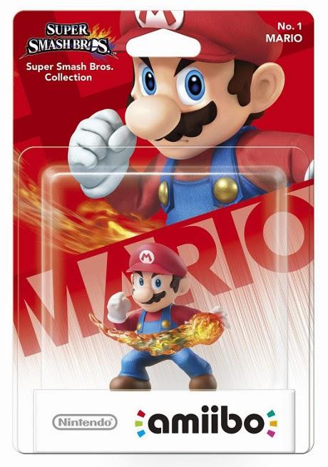 JUGUETES - NINTENDO Amiibo - 1 : Figura Mario  (28 noviembre 2014) | Videojuegos