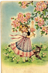 My Easter &amp; Spring vintage cards collection