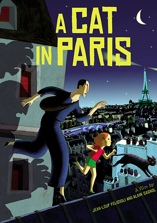 A CAT IN PARIS MOVIES