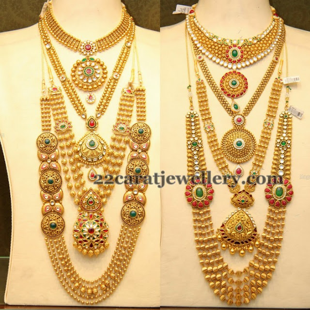 Complete Antique Gold Wedding Jewelry
