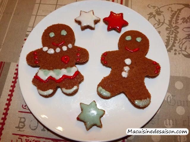 idées de recettes pour Noël : bûches de Noël, truffes au chocolat, sablés de Noël, mannele, mendiants, pavlova
