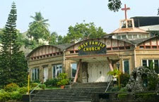 Holy Family Church Chakala - Front View