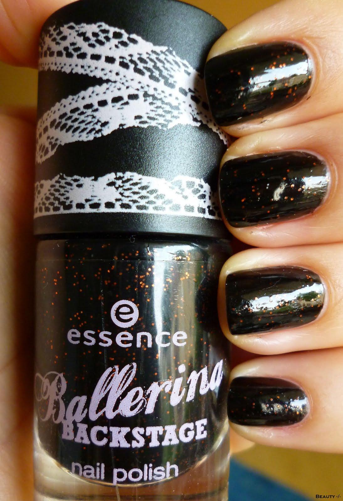 beauty essence nagellack 05 grand plie in black le. Black Bedroom Furniture Sets. Home Design Ideas