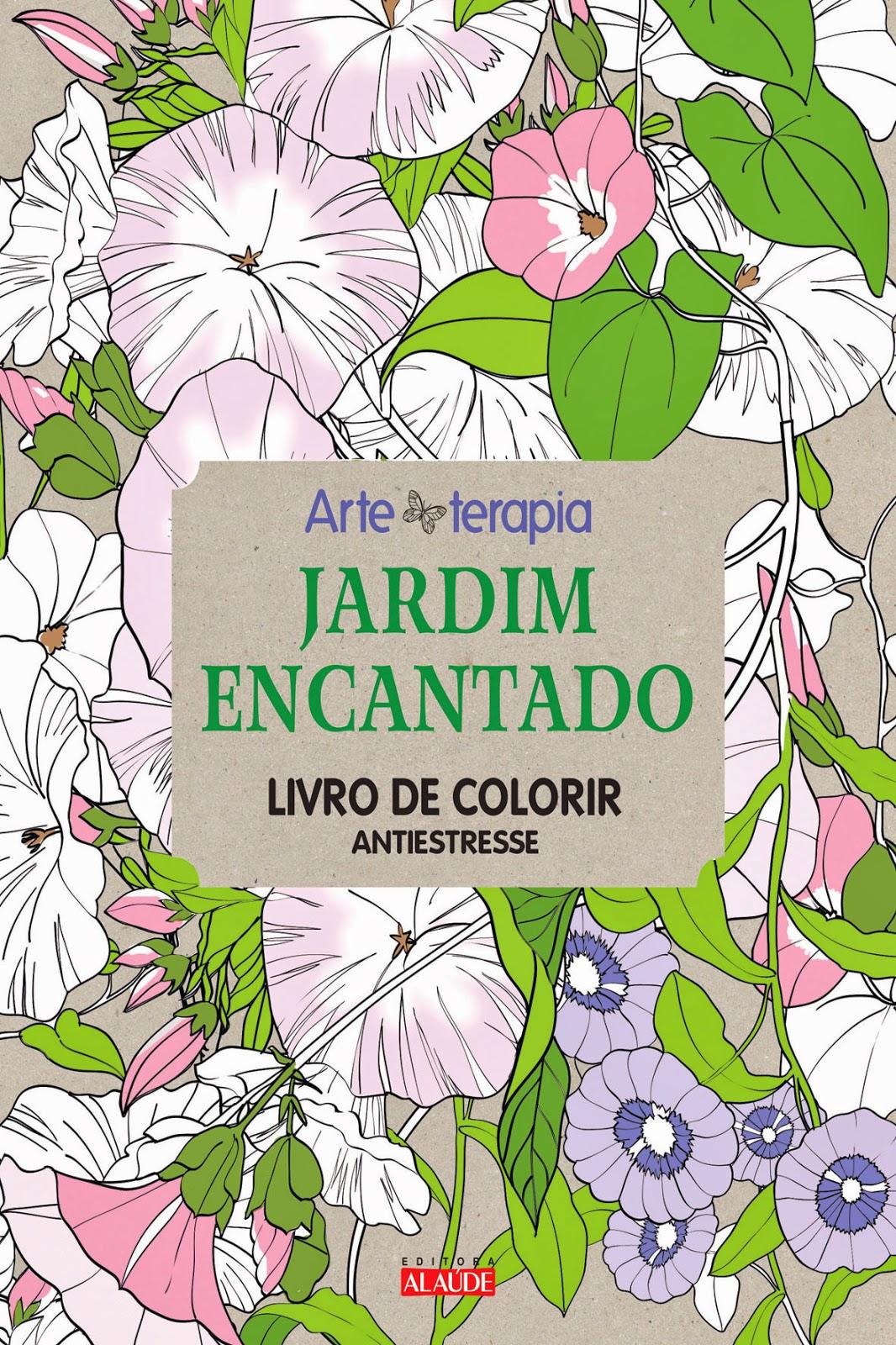 Estante da Nine Jardim encantado livro de colorir antiestresse de #77AB20 1066x1600