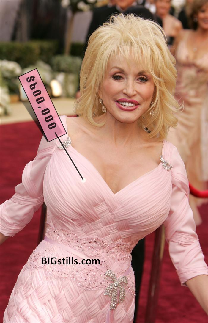 Dolly Parton had insured her Tops for $600,000