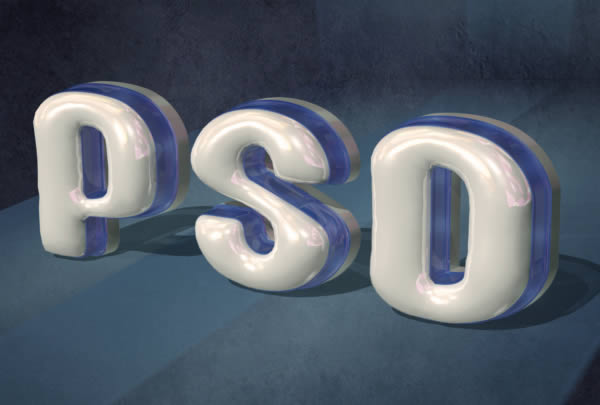 Plastic, 3D Text in Photoshop CS5 Extended ~ Tutorials All -Photoshop ...