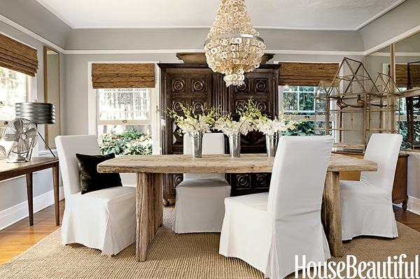 Decore com gigi salas de jantar copa cozinha amor - Timelessly beautiful country dining room furniture ideas for you ...