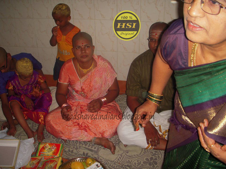 Head Shaved Indians Two Indian Family Goto Headshave And