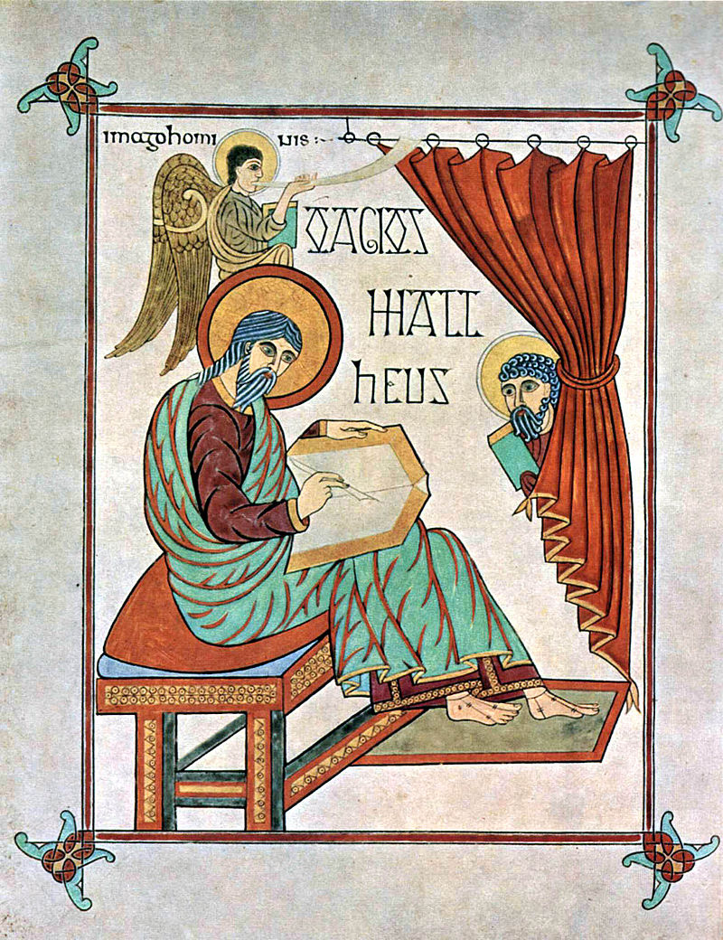 New Liturgical Movement St Matthew The Evangelist From The