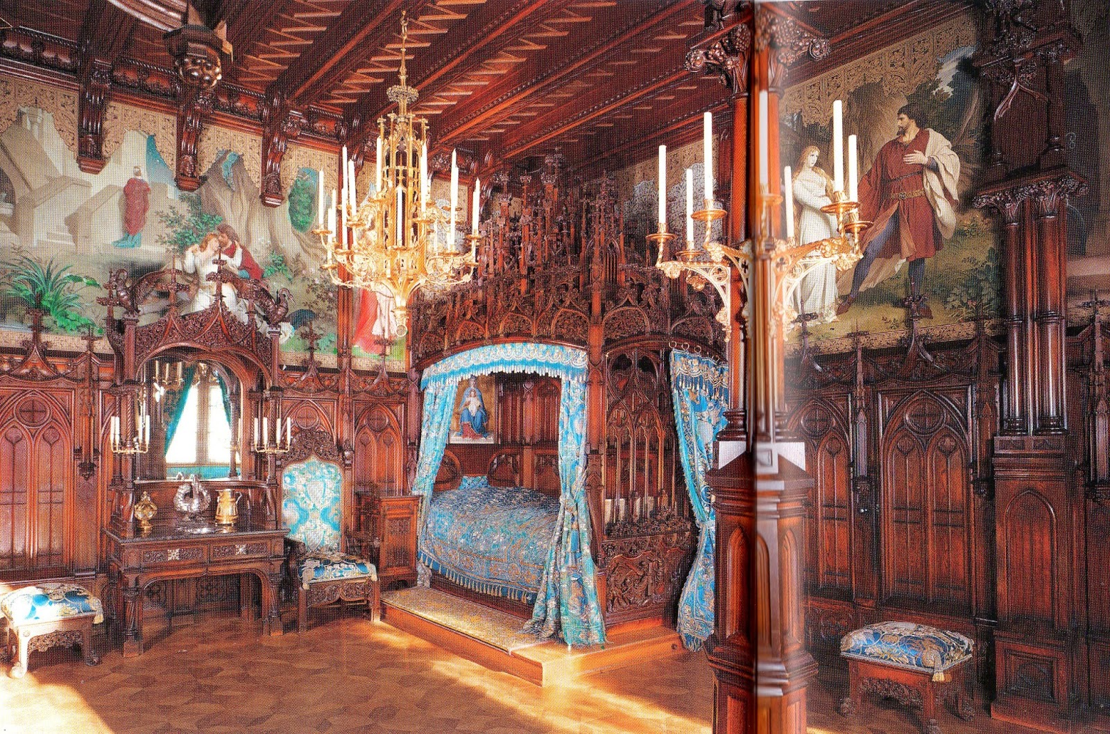 what you see the castles of the swan hohenschwangau. Black Bedroom Furniture Sets. Home Design Ideas