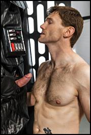 Dennis West y Darth Vader