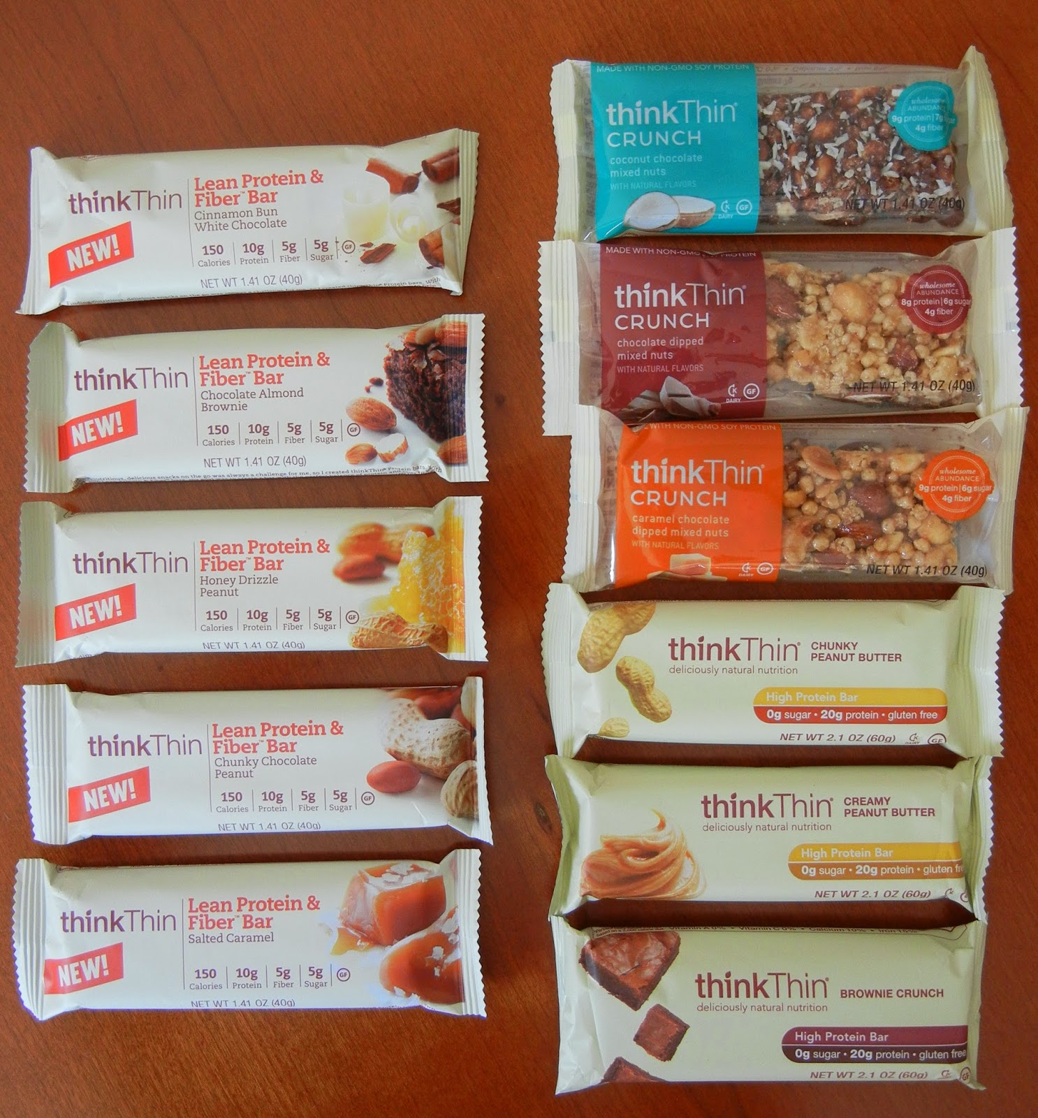 thinkThin+Bars+Lean+Protein+and+Fiber+Crunch+High+Protein+Bar Weight Loss Recipes Drum roll....
