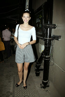 Kalki Koechin in Spicy Shorts and T Shirt