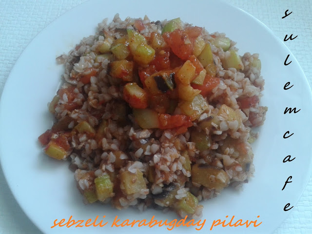 BUCHWEIZEN MIT GEMÜSE-SEBZELI GRECHKA- BUCKWHEAT WITH VEGETABLE
