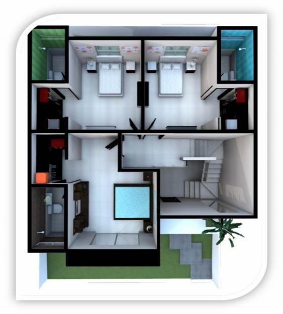 Planos De Casas Con 3 Recamaras