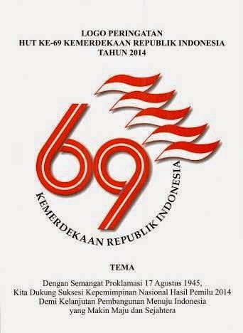 logo peringatan HUT RI 69