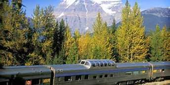 Canada Vacation Trips in Train Rail Rides