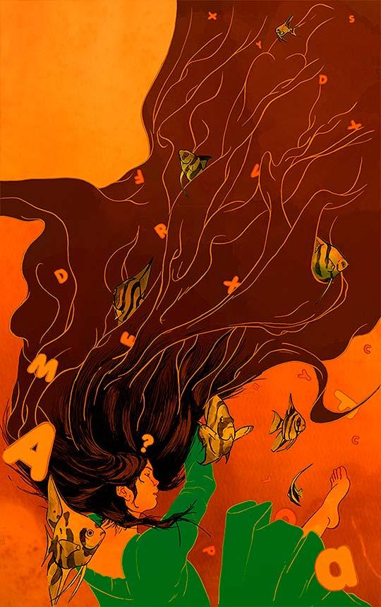 Ilustración, diseño y talento de Kevin Davis