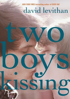 book cover of Two Boys Kissing by David Levithan