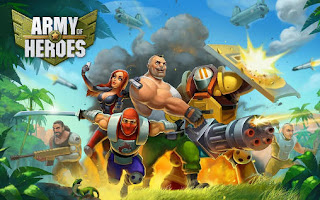 Screenshots of the Army of heroes for Android tablet, phone.