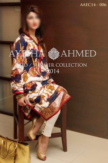 Ayesha Ahmed Eid Summer Collection 2014