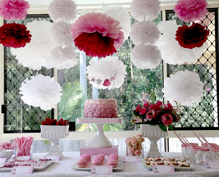 Impressive Pink Decorations for Birthday Party Ideas 720 x 581 · 168 kB · jpeg