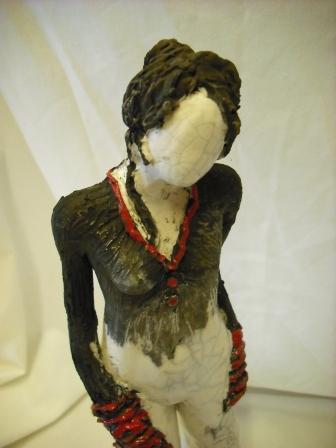 Mes sculptures RAKU V01