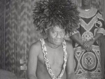 Jefe de tribu Bantú