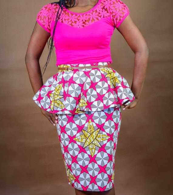 Flashback Summer: African and 1930s Trends - peplum skirt