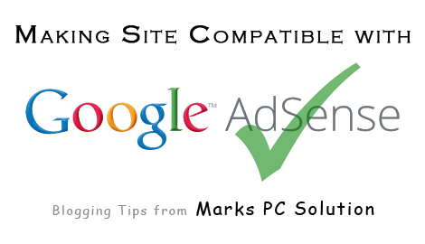 Making Site Compatible with AdSense