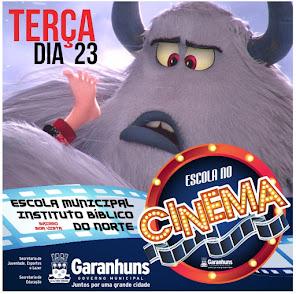 DIA 23 TEM ESCOLA NO CINEMA!