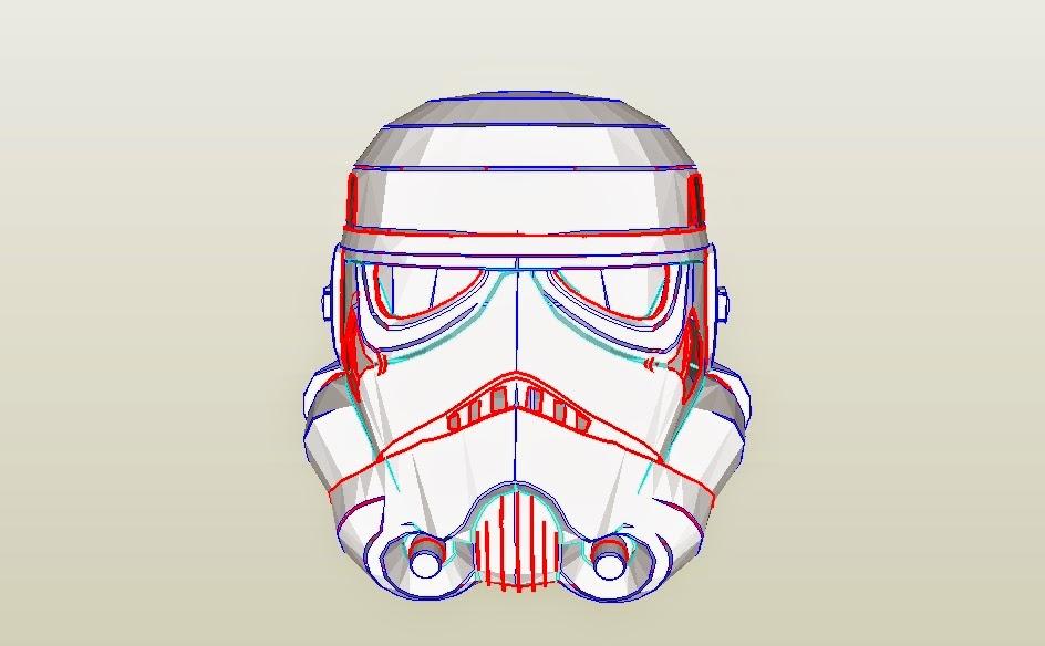 Dali-Lomo: Star Wars: Stormtrooper Helmet DIY Cardboard ...